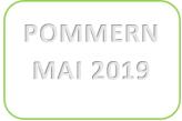 Pommern mai