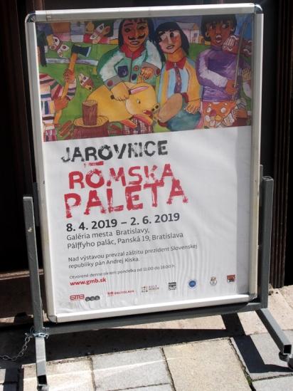 Romaausstellung in der Galeria Mesta 1